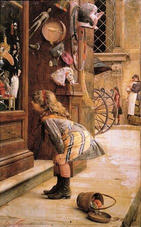 Elia Volpi, La vetrina dei balocchi.jpg