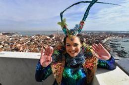 Carnevale 2019 - il volo dell'angelo in Piazza San Marco