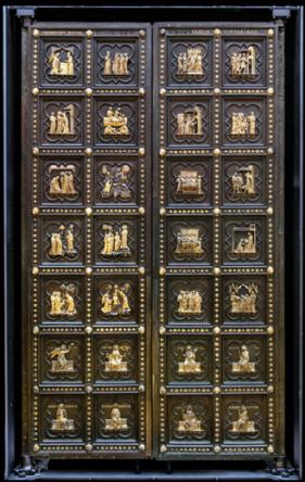 tre porte del Museo di Santa Maria del Fiore