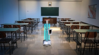 robot sanificatore scuole